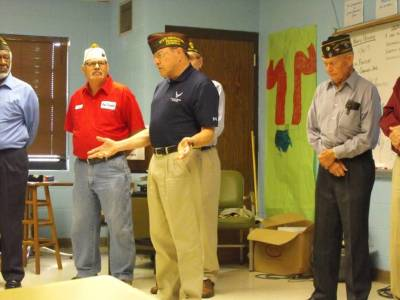 Visit from Local Veterans